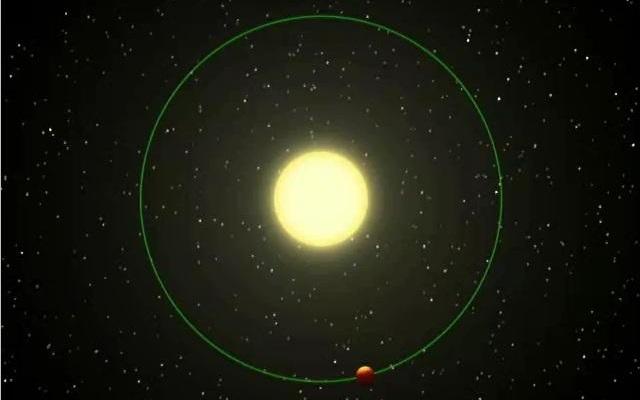 太陽系外惑星アンドロメダνb想像図