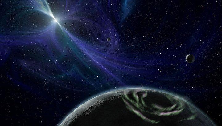 パルサー惑星想像図