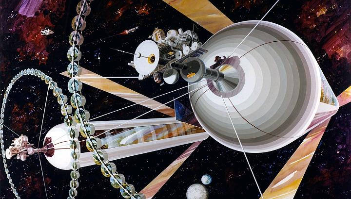 スペースコロニー カプセル