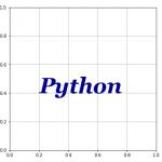 [Matplotlib] テキストの表示と書式設定