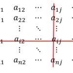 余因子と余因子行列