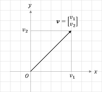 位置ベクトル (position vector)