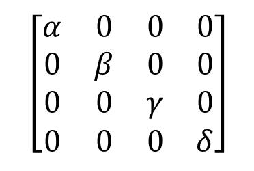 [python] matrix diagonalization (行列の対角化)