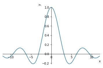 極限値の計算:sympy.limit()